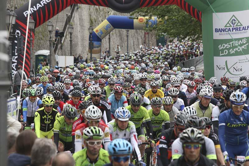Partenza Sportful Dolomiti Race 14