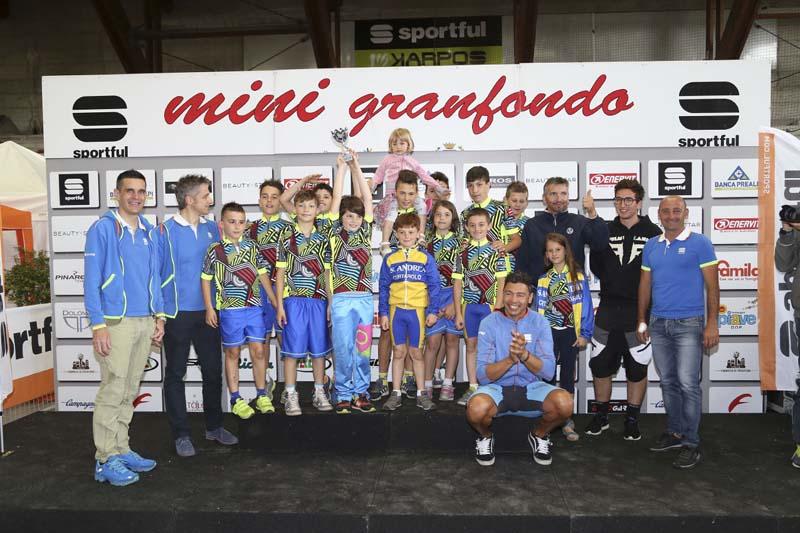 Premiazioni MINI GF 8