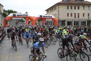 Partenza Sportful Dolomiti Race 1